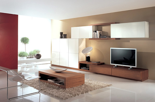 21 gorgeous modern minimalist living room design for Modern minimalist living room