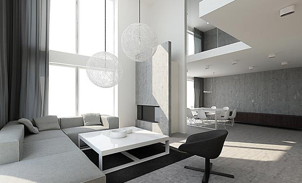 21 Gorgeous Modern Minimalist Living Room Design Interior Design Ideas A