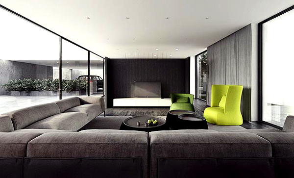 21 gorgeous modern minimalist living room design for Modern zen interior design living room