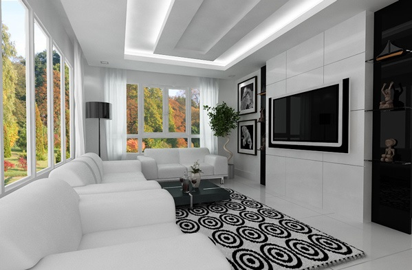 Merveilleux Interiors Of A Living Room 21 Gorgeous Modern, Minimalist Living Room Design