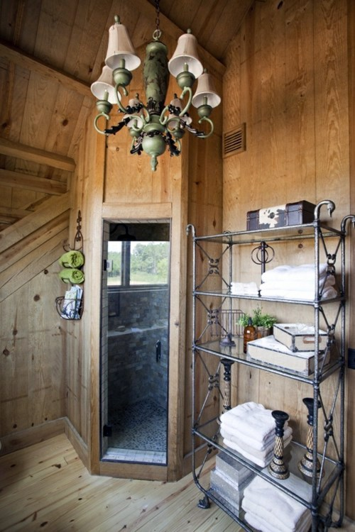 35 Rustic Bathroom Design Ideas   Rural Barn Outfit Part 95