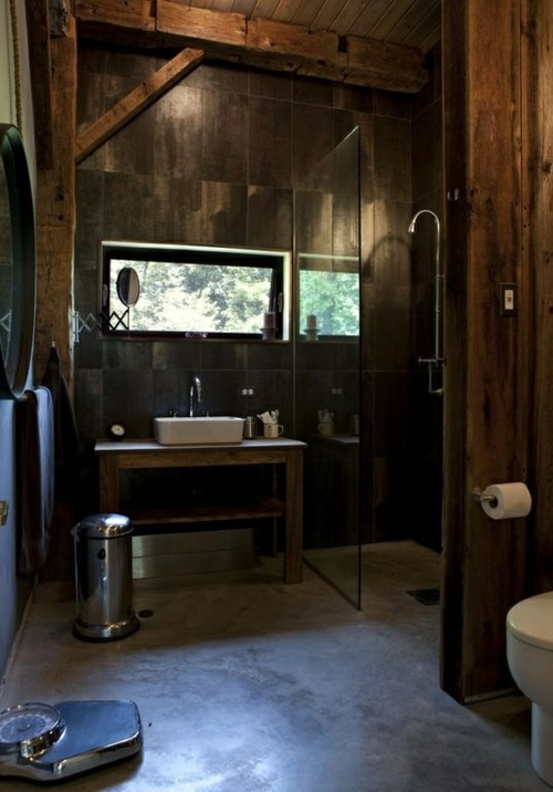 35 Rustic bathroom design ideas – Rural Barn Outfit ...