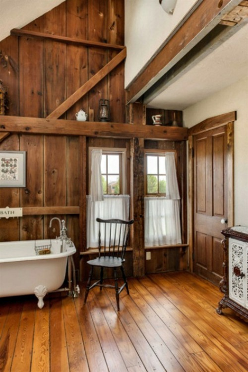 ... 35 Rustic Bathroom Design Ideas   Rural Barn Outfit ...