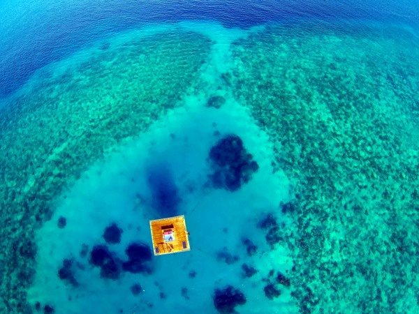 Hotels - Dream Houses - Amazing house in the open sea with a bedroom under water
