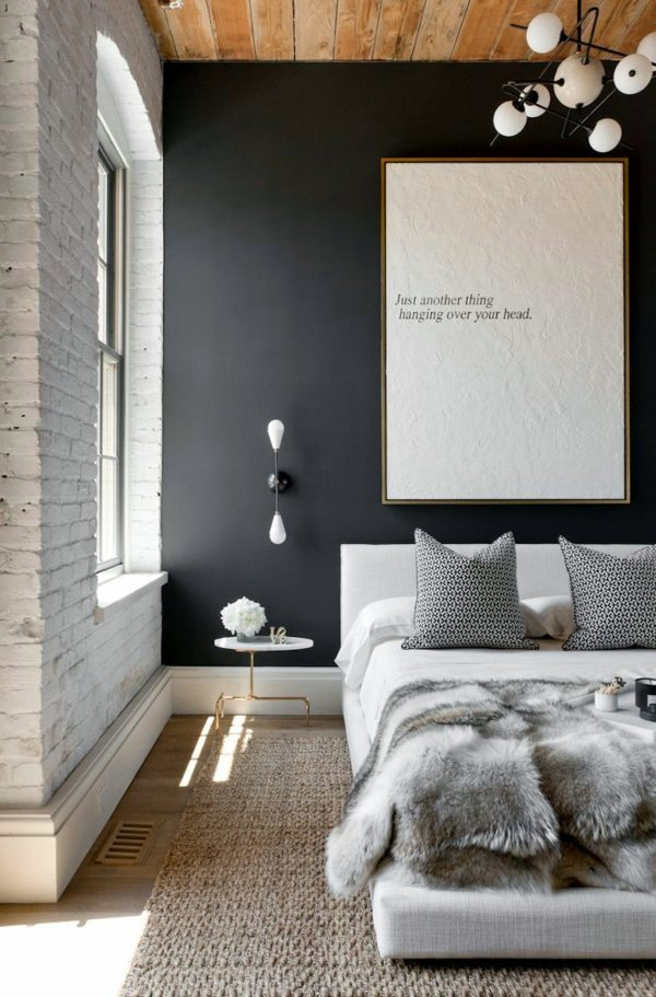wandfarbe select bedroom wall color and make a modern feel - Great Bedroom Colors