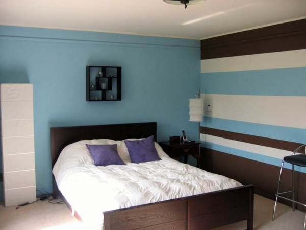 Select bedroom wall color and make a modern feel for Bedroom wall colors horizontal