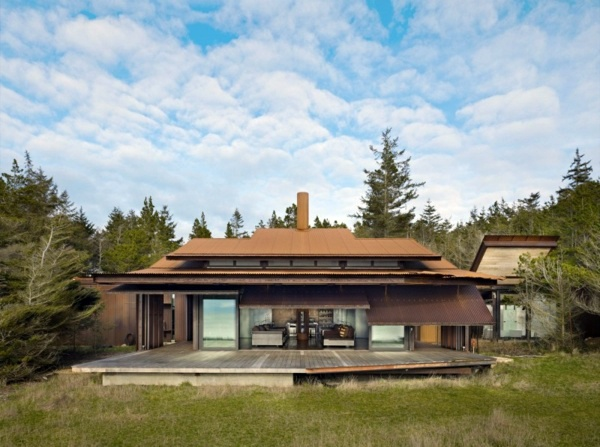 Great Architektur   Contemporary House Design   Gorgeous Residence On The Island  Of Lopez, USA