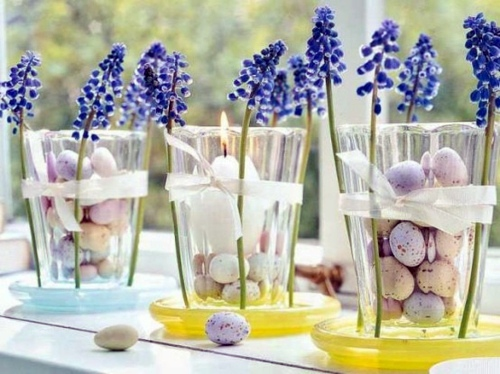 spring romance with quail eggs 100 ideas for original easter decoration - Easter Decoration