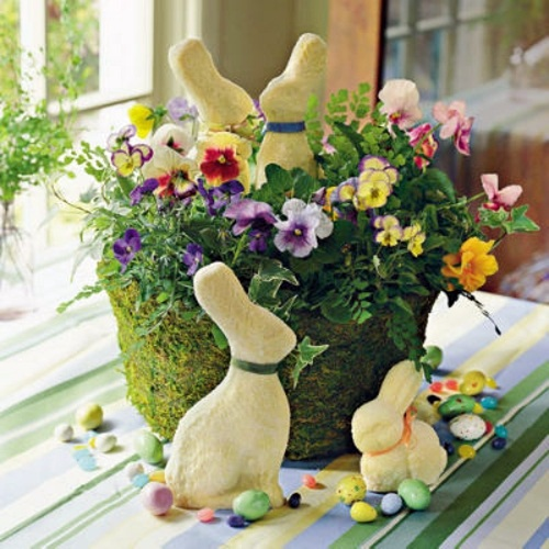 Spring Decoration Craft For Easter Interior Design Ideas