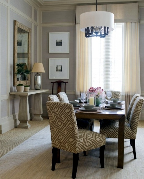 Shabby Chic In Neutral Tones Dining Room Decoration With Style