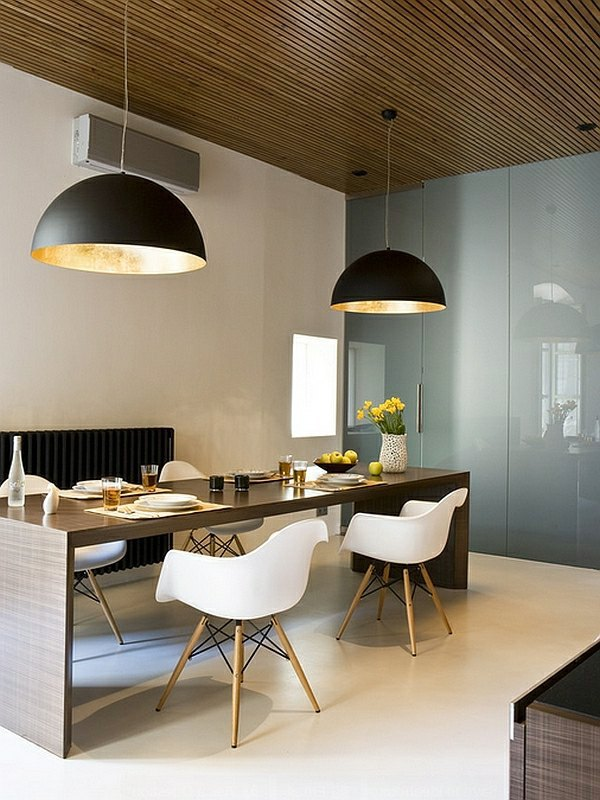 Contemporary - Large pendant lights in the dining room - modern pendant l&s & Large pendant lights in the dining room u2013 modern pendant lamps ...