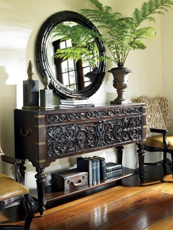 Great Colonial Style Dining Room Furniture. Heads Admire The Charm Of Colonial  Furniture Stylish Wooden From Design Ideas