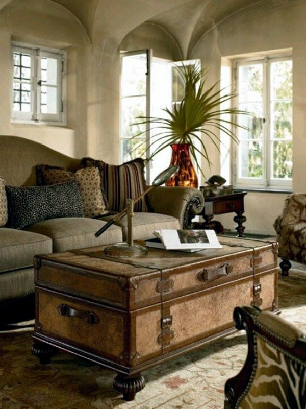 Vintage Furniture Glass Living Room Showcase Design Wood: The Charm Of Colonial Furniture