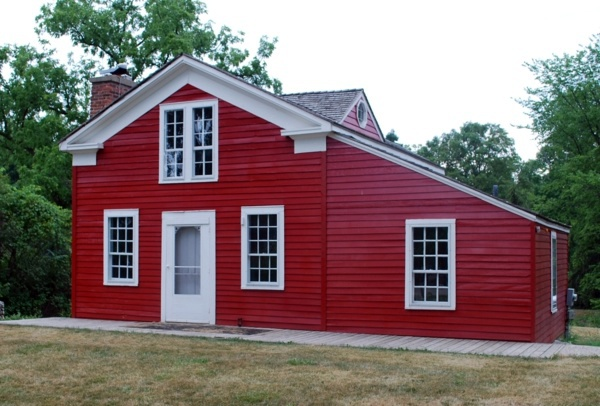 Sensational House Paint Would Be A Red House Facade Something For You Inspirational Interior Design Netriciaus