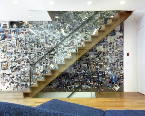 cool wall art make a photo wall with family photos
