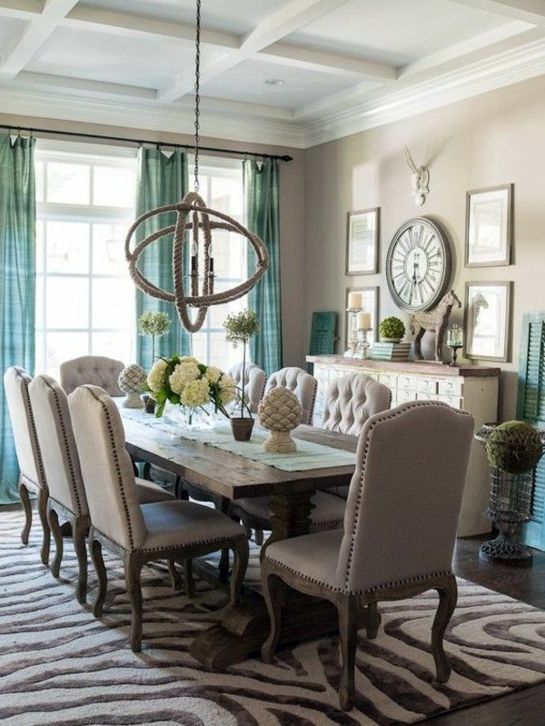 Dining room design interior ideas in trend interior for Ideas for dining room