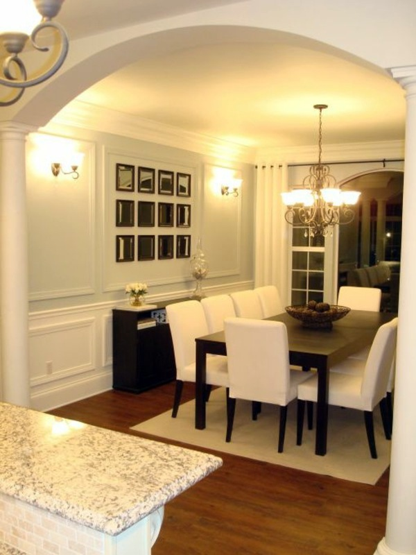 Dining room design interior ideas in trend interior for Dinner room ideas
