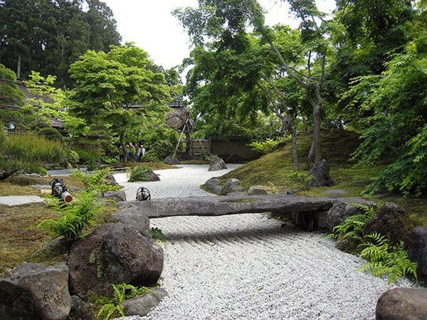the japanese garden original ideas for outdoor decoration a stone bridge - Japanese Garden Stone Bridge