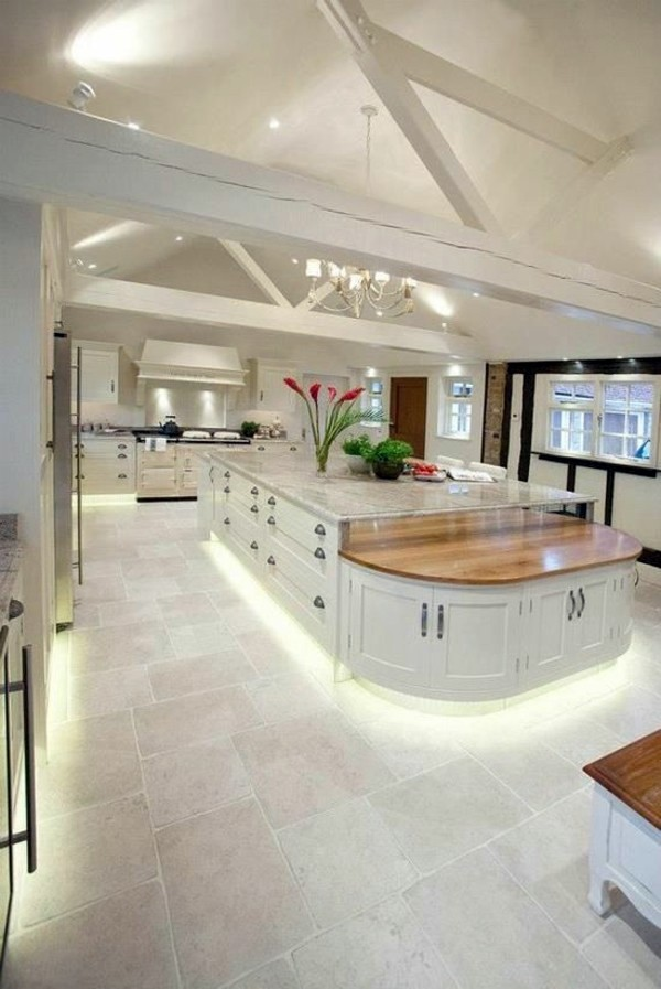 30 stylish kitchen designs for modern kitchen interior for Modern large kitchen design