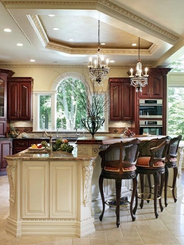 Luxury and neo-baroque 30 stylish kitchen designs for modern kitchen
