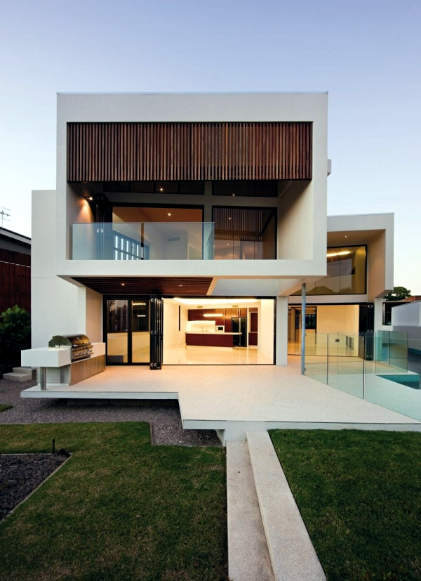 Modern Block House Australia Interior Design Ideas Avso Org Contemporary