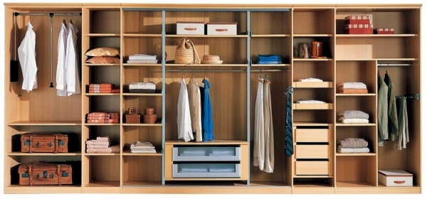 Modern massive wardrobe in the bedroom choose the best - Amenagement dressing castorama ...