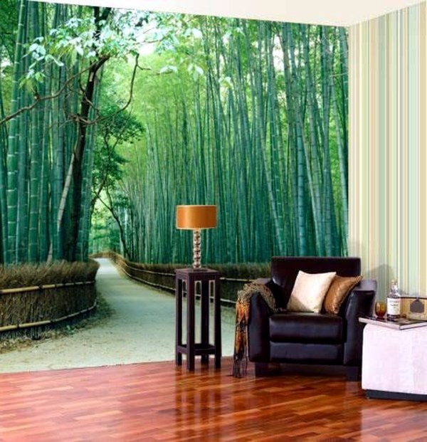 murals forest enjoy the tranquility of nature wall murals with forest motifs make this. Black Bedroom Furniture Sets. Home Design Ideas