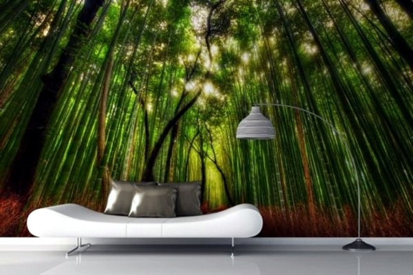 Nice Optical Effect Murals Forest   Enjoy The Tranquility Of Nature! Wall  Murals With Forest Motifs Make This Part 26