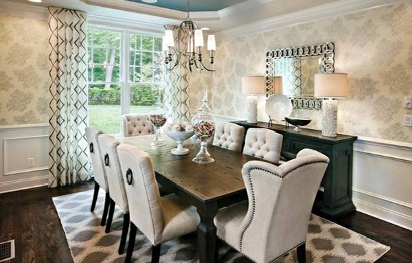 Dining room design – mix traditional style with contemporary accents  Interior Design Ideas ...