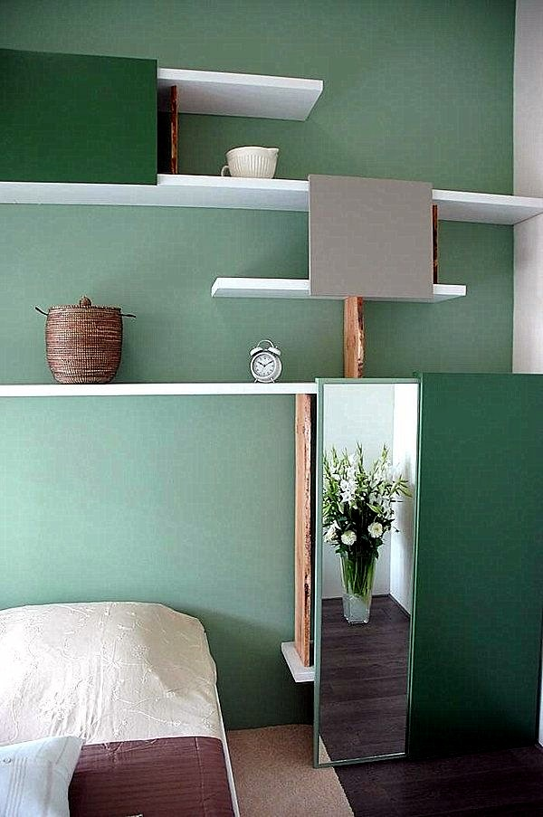 wall color mint green gives your living room a magical flair - Green Color Bedroom