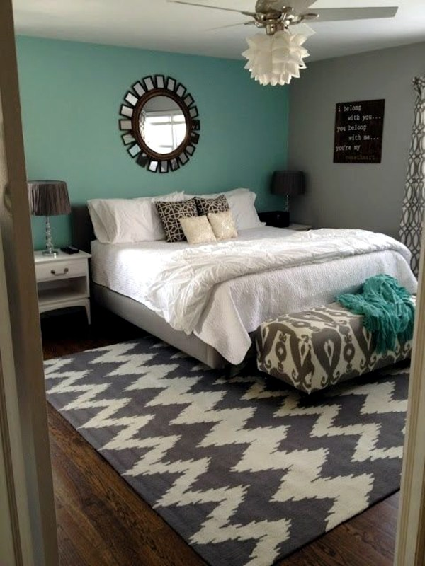 wall color mint green gives your living room a magical flair - Mint Green Bedroom Decorating Ideas