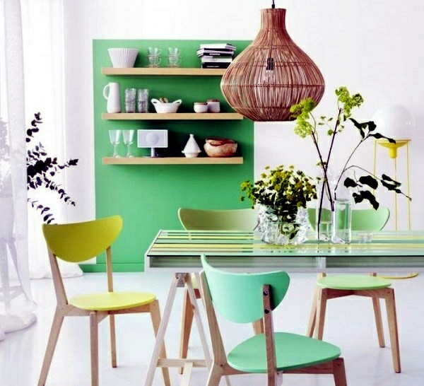 Mint Green Kitchen Paint: Wall Color Mint Green Gives Your Living Room A Magical