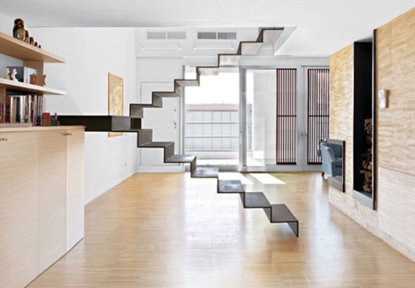 ... 32 Floating Staircase Ideas For Contemporary Home