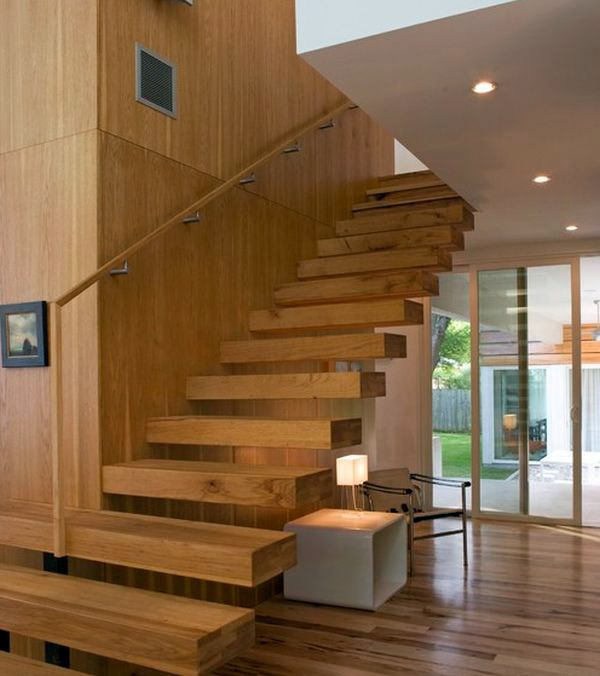 32 Floating staircase ideas for contemporary home | Interior Design ...