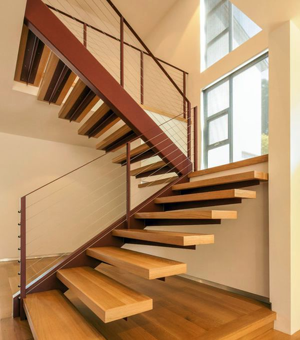 32 Floating Staircase Ideas For Contemporary Home