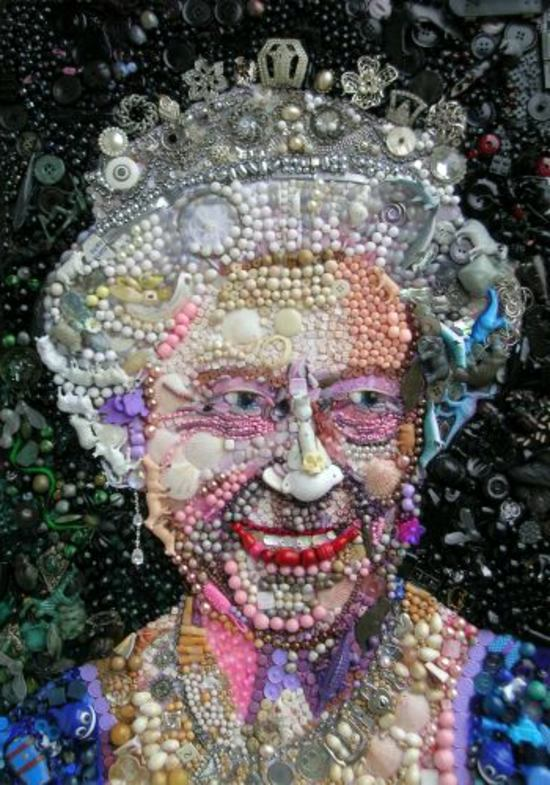 Kunst - Contemporary art from recycled materials by Jane Perkins