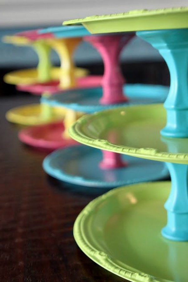 Diy Cake Stand With Lid