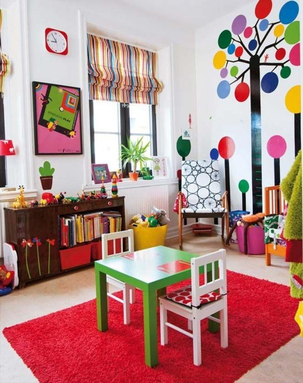 Colorful design ideas - fantastic room Children's room design - creative  ideas in color