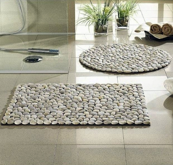 Bath Mats make your bathroom warm and welcoming act