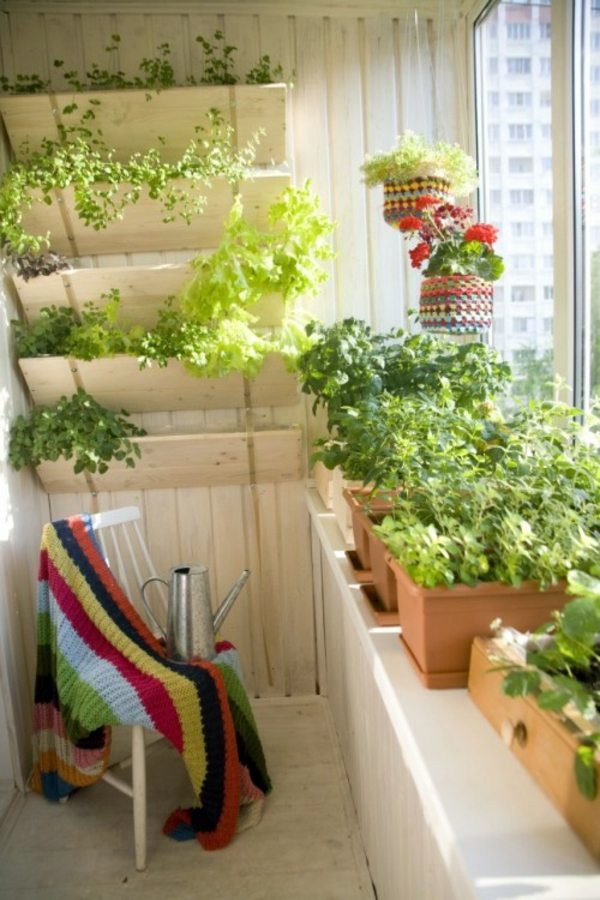 Green paradise on your terrace 30 Cool Ideas for the small balcony