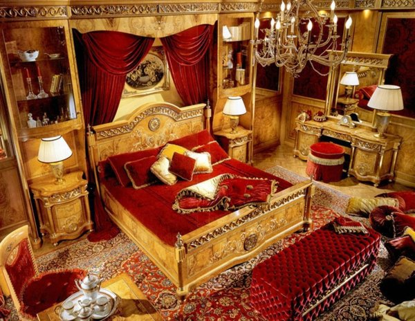 Baroque Bedroom Furniture Such As The Nobles Sleep Interior
