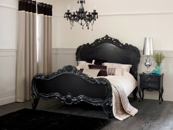 baroque bedroom furniture – such as the nobles sleep | interior