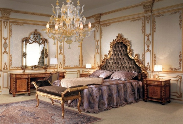 Beautiful Solid Wood Furniture In Baroque Bedroom Baroque Bedroom Furniture   Such As  The Nobles Sleep
