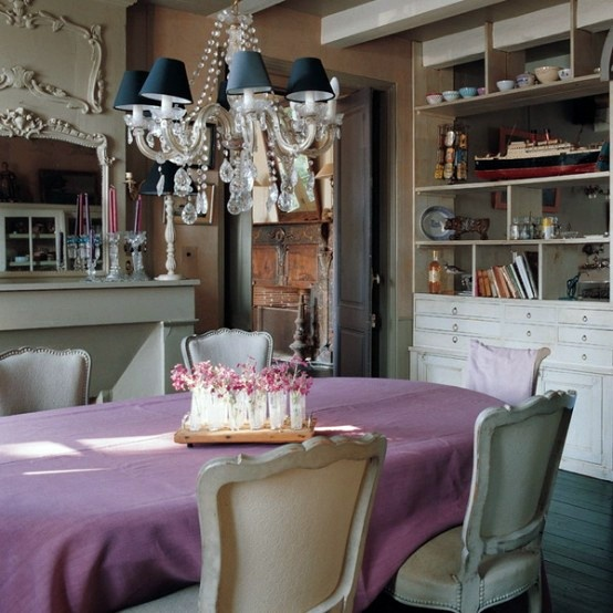 45 Charming French Dining Room Designs Interior Design