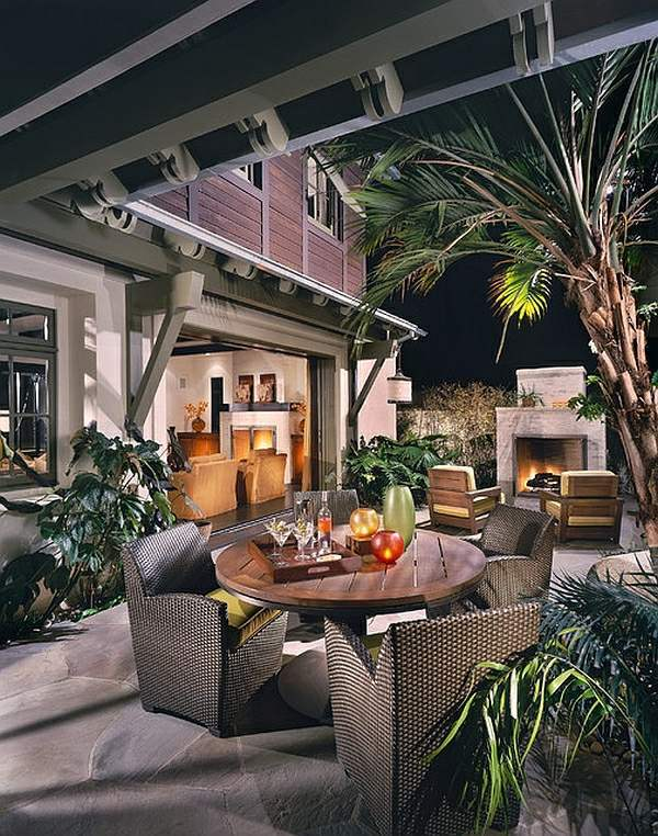 Outdoor Dining Tropical Decor That Inspires You In The Cold Winter