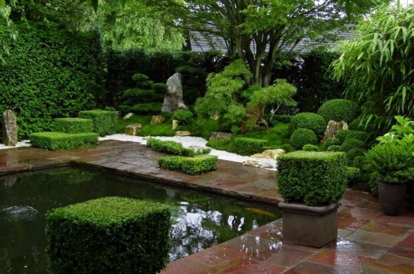 creating a zen garden the main elements of the japanese garden interior design ideas avso org. Black Bedroom Furniture Sets. Home Design Ideas