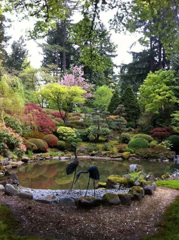 Creating a Zen garden - the main elements of the Japanese ...