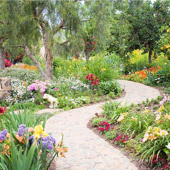 High Resolution Landscaping With Stones 9 Front Yard: Garden Paths And Garden Programs