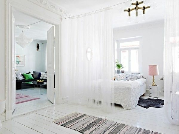 use curtain room divider smart home design ideas interior design