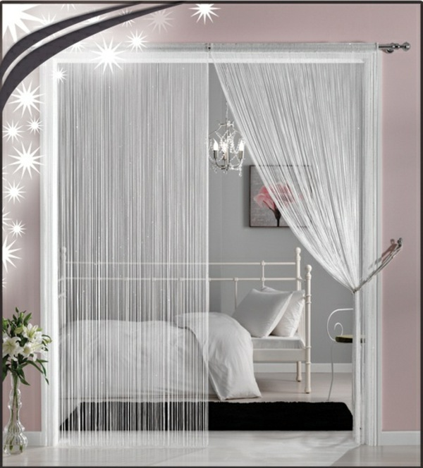 Use curtain room divider smart home design ideas for Curtain partition living room